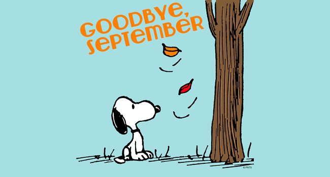 Goodbye September! Image