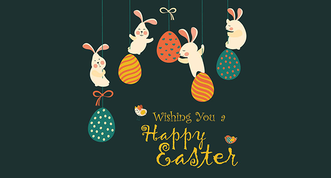 Wishing you a Happy Easter Image