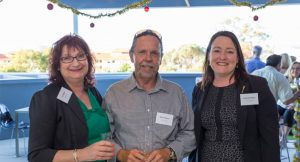Brett & Liz at the JBA Christmas sundowner Image