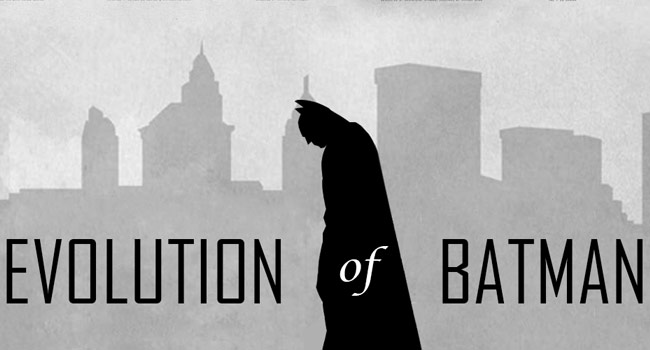 Evolution of the Batman Logo Image