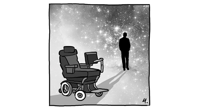 RIP Stephen Hawking (1942 – 2018) Image