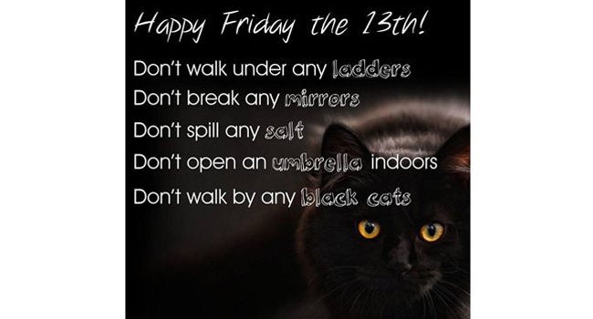 Happy Friday the 13th! Image