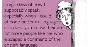 English language Image