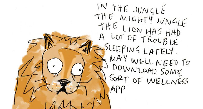 In the jungle, the mighty jungle… Image