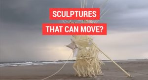 Sculptures that can move? Image
