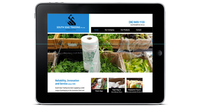 New website for a long-established business Image