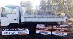 Truck signage Image