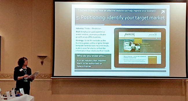 Positioning: identify your target market