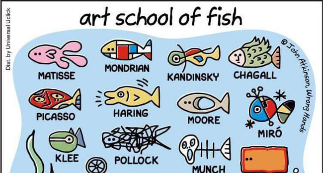 Art School of Fish Image