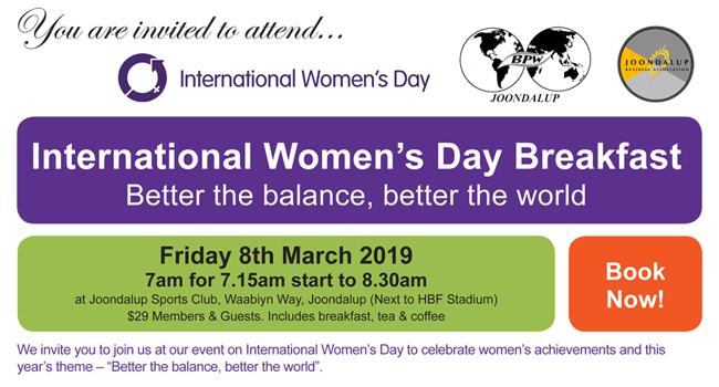 International Women's Day 2019 Image