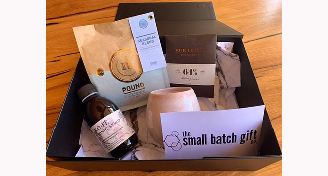 Stunning Thank you gift box from client Image