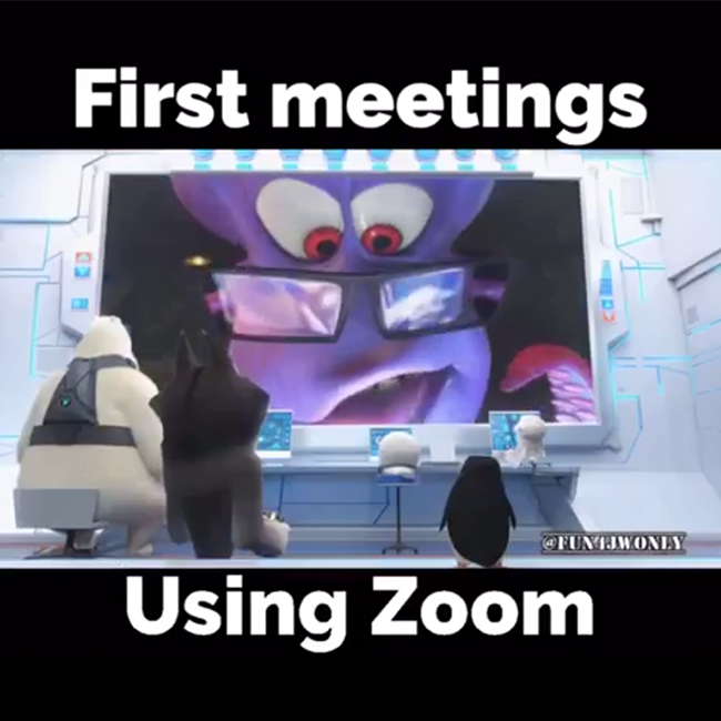 All aboard Zoom! Image