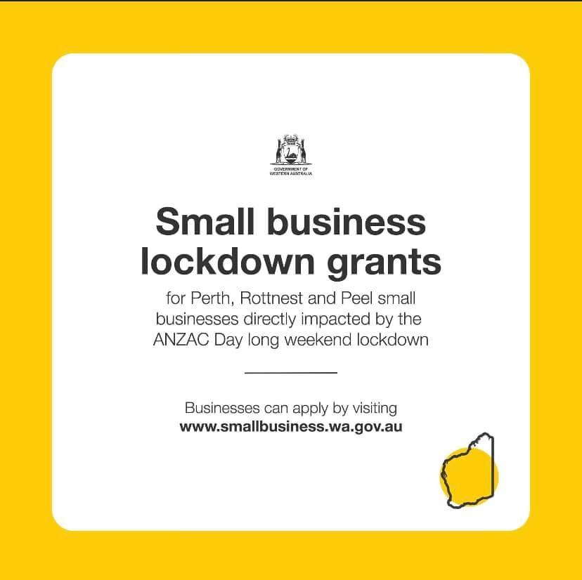 Small Business Lockdown Grants Image