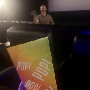 Nothing beats seeing a movie in a cinema Image